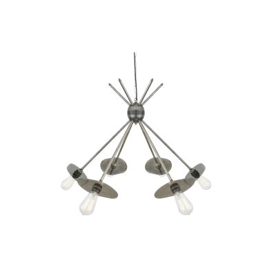 Nara Chandelier Satin Brass