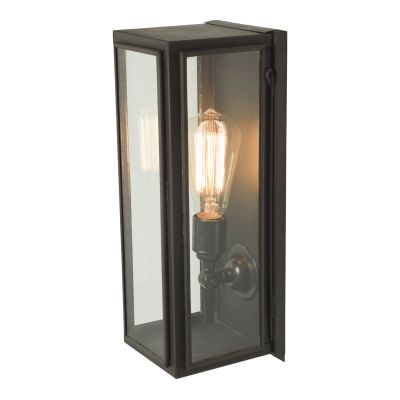 Narrow Box Wall Light 7649 (Externally Glazed) Clear Glass