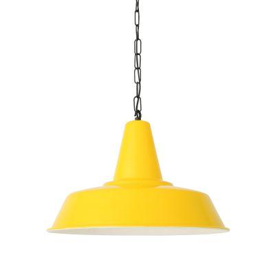 Nassau Pendant Light Powder Coated Yellow
