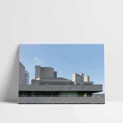National Theatre National Theatre Print 50x40cm