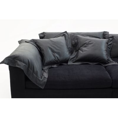 Nebula Nine Cushion Fiber A4260 - Linen Deep Black - S