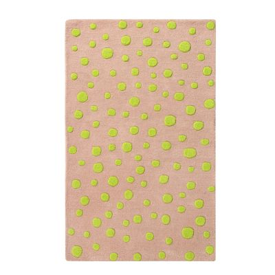 Neon Dots: Childrens Wool Rug Neon Dots: Childrens Wool Rug