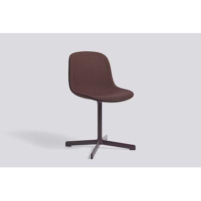 Neu 10 Upholstered Chair with Swivel Base Coda 2 100,Hay Aluminium Polished