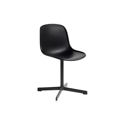 Neu10 Chair Orange Shell, Aluminium Frame
