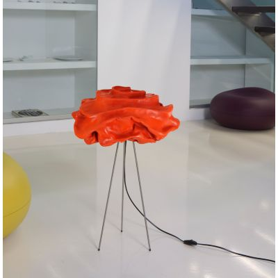 Nevo NE02 Table Lamp Orange, Transparent Cable, With Legs