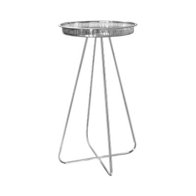 New Casablanca Table Silver New Casablanca Table Silver Tall