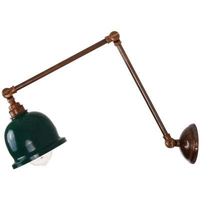 Nico Adjustable Poster Light Racing Green