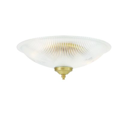 Nicosa Ceiling Light Satin Brass