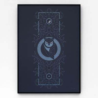 Night Owl A2 Screen Print