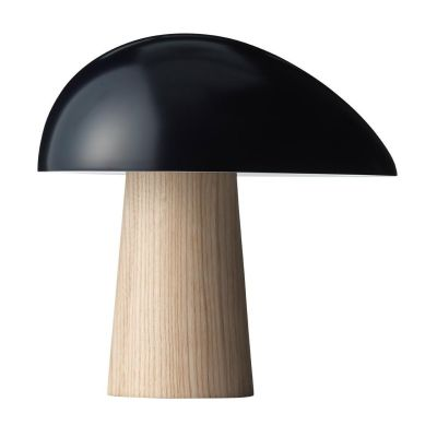 Night Owl Table Lamp Midnight Blue/Ash/Lacquered/H23.9cm/23.5cm/Cable Black