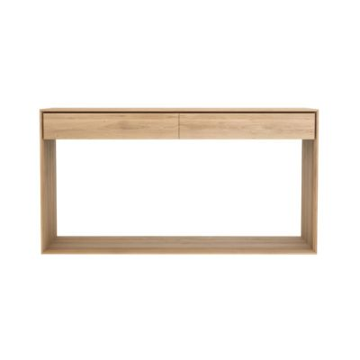 Nordic Console Oak, 160 x 40 x 85 cm