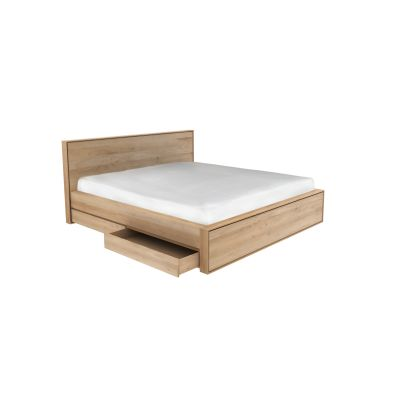 Nordic II Bed with Drawers 219 x 204 x 95 cm - EU King Size