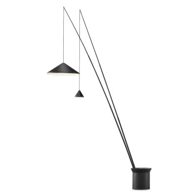 North 5605 Floor Lamp Matt graphite lacquer