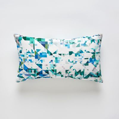 Northmore Minor Teal cushion 30x50cm