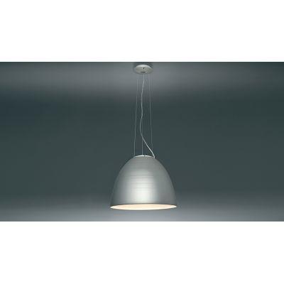 Nur 1618 LED Pendant Light Aluminium Grey