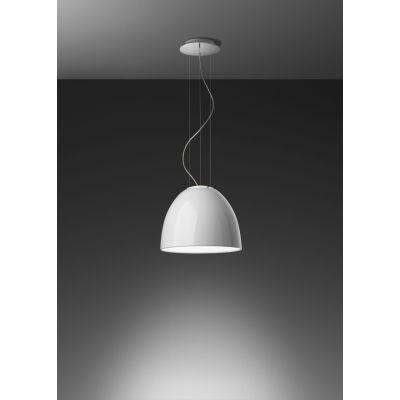 Nur Gloss Mini LED Pendant Light Glossy Black