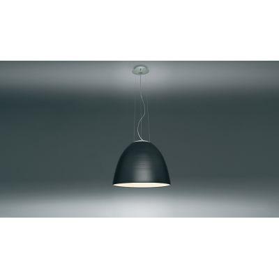 Nur Mini LED Pendant Light Aluminium Grey