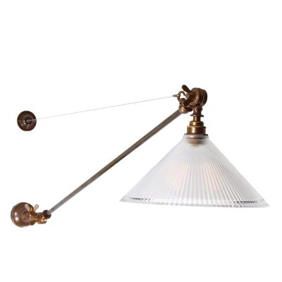 Nyx Wall Light Satin Brass