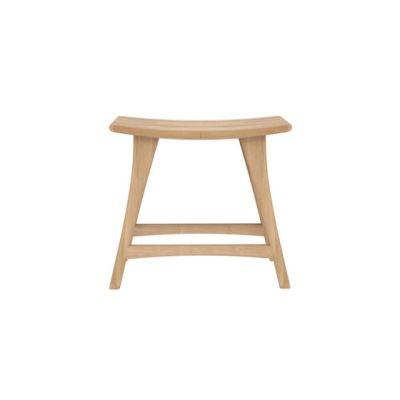 Oak Osso stool - Ex display Oak