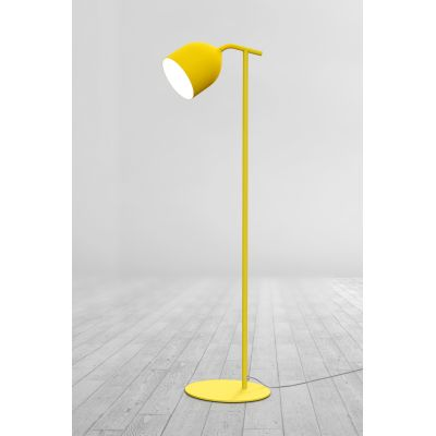 Odile Terra Floop Lamp 127 Fine Textured Senape