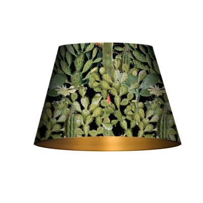 Opuntia Anthracite Cone Table/Floor Shade