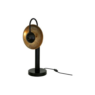 Orebro Table Lamp Satin Brass, UL Plug