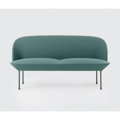 Oslo Sofa - 2 Seater Vidar 3 0472, Dark Grey