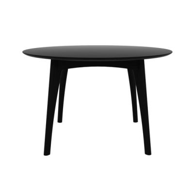 Osso Round Dining Table Low, Blackstone