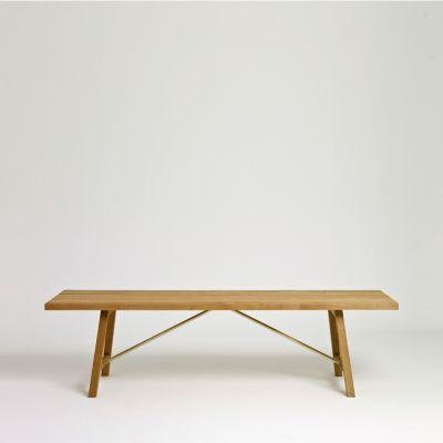 Outdoor Bench Two Oak, 160 cm