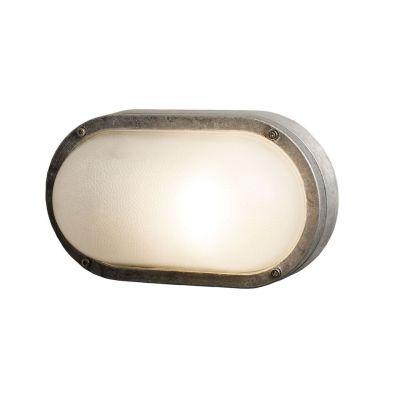 Oval Aluminium Bulkhead 8120 G24d