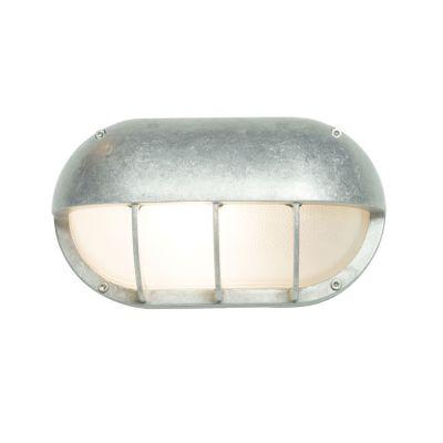Oval Aluminium Bulkhead 8125 G24d