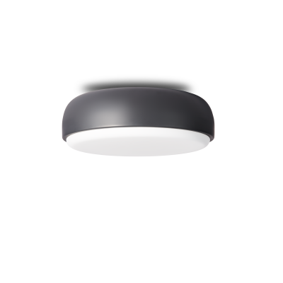 Over Me Ceiling/Wall Light Dark Grey, Large