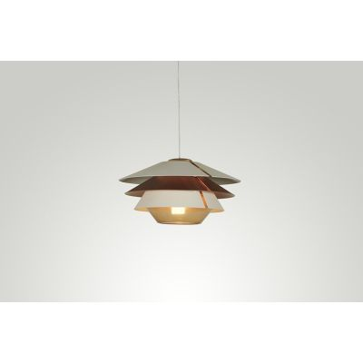 Overlay Suspension Lamp ø 64.5, Grey