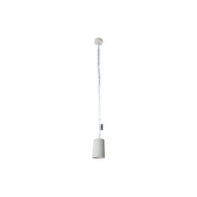 Paint Pendant Light Cemento, Grey, Silver