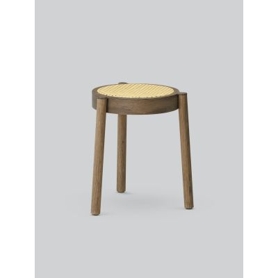 Pal Stool Smoked Oak, Cane Mesh