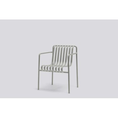 Palissade Dining Armchair - Outdoor Sky Grey