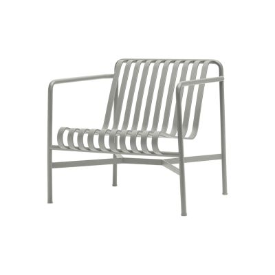 Palissade Lounge Chair - Outdoor Sky Grey, Low