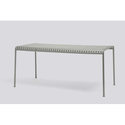 Palissade Table Rectangular - Outdoor Sky Grey