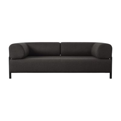 Palo 2-Seater Sofa with Armrest Brown