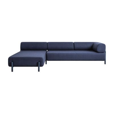 Palo Corner Sofa Left Blue