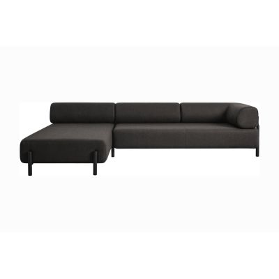 Palo Corner Sofa Left Brown