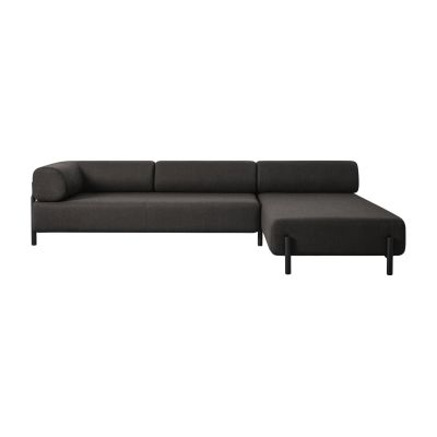 Palo Corner Sofa Right Brown