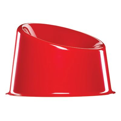 Panto Pop Stackable Lounge Chair 47 Red