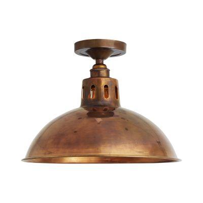 Paris Ceiling Light Satin Brass