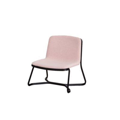 Path Lounge Chair B59 Matt Black, Tessuto Lana Melange H40 Fango