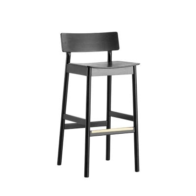 Pause counter chair Black