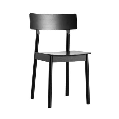 Pause dining chair - set of 2 Black