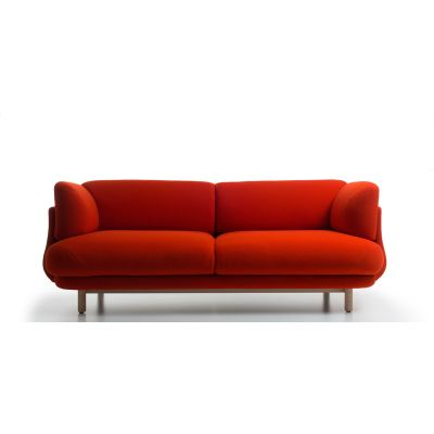 Peg 2 Seater Sofa Trame A210, Frassino Ash Wood 112