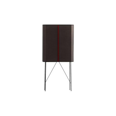 Perf Bar Cabinet - New Copper, Black Matt