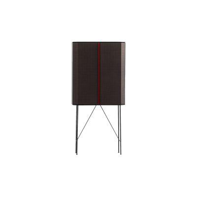 Perf Bar Cabinet - New Copper, Black Matt